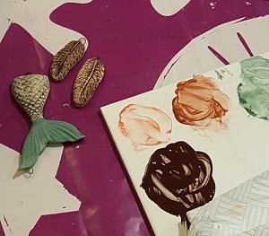 Image showing glaze painting