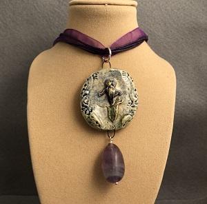My beautiful Iris necklace