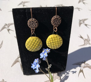 Essence of summer ceramic earrings