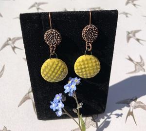 Essence of summer ceramic earrings