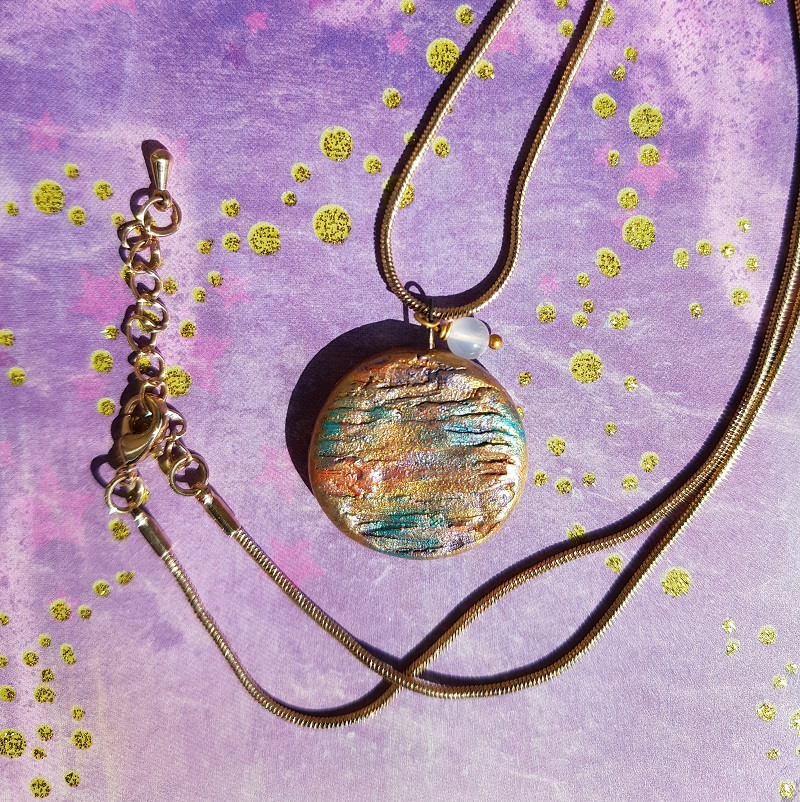 Mystical Planet Pendant