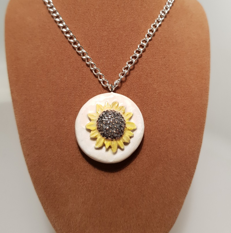 Sunflowers Pendant