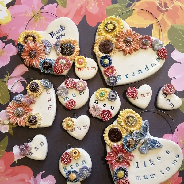 Selection of personalised jewellery