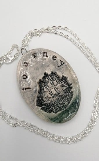 For the journey pendant for LP fans