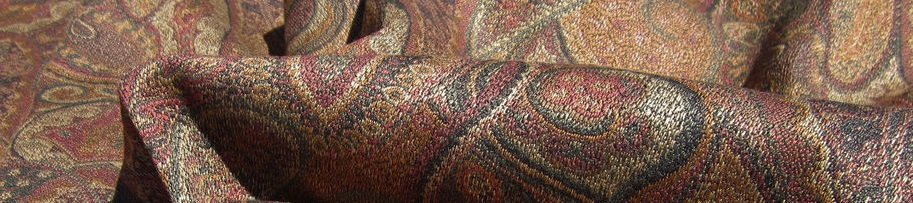 Paisley pattern material described in blog