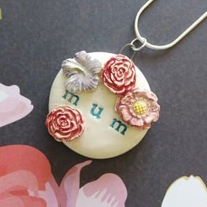 Mother's day personalised product Mum pendant