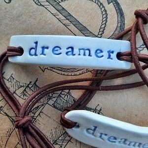 Dreamer ceramic bracelet